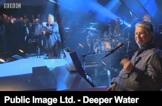 PiL: The Beach Boys Brian Wilson paddles in some Deeper Water on Jools Holland