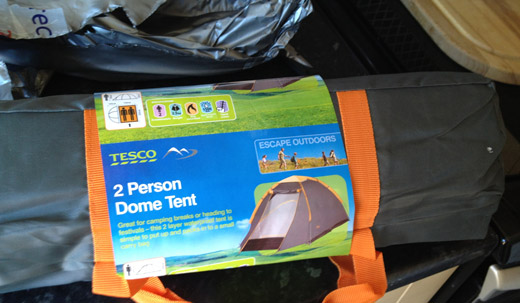 Tesco tents and Argos sleeping bags'. No expense spared for PiL Official.com...