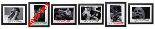 Exclusive, limited edition, hand-signed John Lydon prints